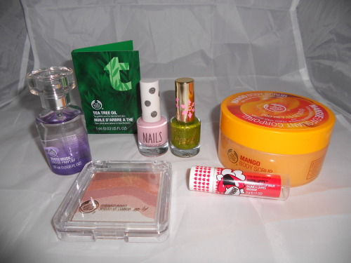 Recent Buys | Topshop & The Body Shop
