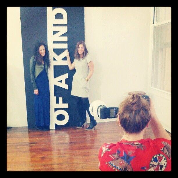 Shooting with @OfAKind + Nylon Magazine today at Ann Street Studio.  I never would have imagined my 5 years of makeup artistry skills would come in handy so often in so many situations — from doing wedding makeup for close friends to being hired for shoots. Lately, I've been hired more as a makeup artist than as a fashion stylist. Funny how the universe works.