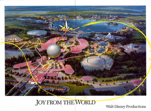 disneyprince:  Disney's 1982 Christmas card.