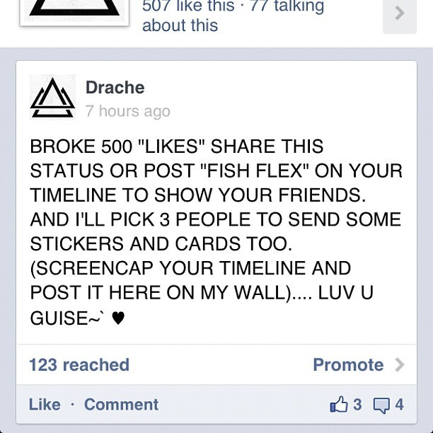 LYKE ME ON #Facebook GUISE. #music #Drache #swag #swaggie #skream #edm #triangle #tortillachip #stickers #cards #rad #cool #merica #shows
