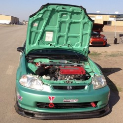 Check this built #EKCivic at #globaltimeattack #gta #buttonwillow #Honda #Civic #timeattack