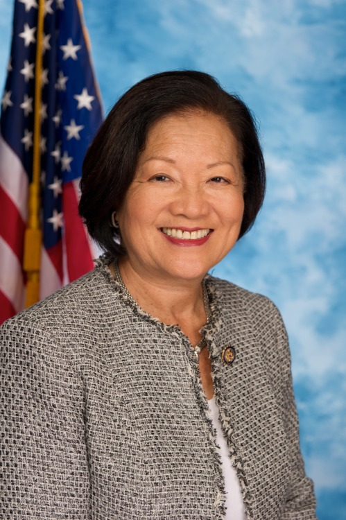 "coolchicksfromhistory:  Mazie Hirono, the first Asian American woman elected to the Senate. ""I bring quadruple diversity to the Senate,"" Hirono said at a rally earlier in the campaign. ""I'm a woman. I'll be the first Asian woman ever to be elected to the U.S. Senate. I am an immigrant. I am a Buddhist. When I said this at one of my gatherings, they said, 'Yes, but are you gay?' and I said, 'Nobody's perfect.'"""