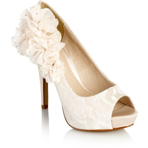 3bummblebee3:  Faith pumps   ❤ liked on Polyvore (see more peep toe pumps)