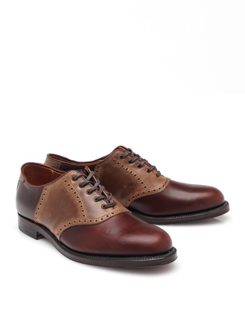wantering:  Alden Sheppard Street Saddle Shoe