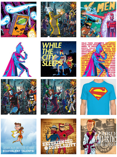 chrishaley:  Hey dudes! Everything in my Society6 store is $5 off thru Nov. 11 if you use this link! If you can't afford anything, reblogs are always super-appreciated! Thanks a lot. xoch