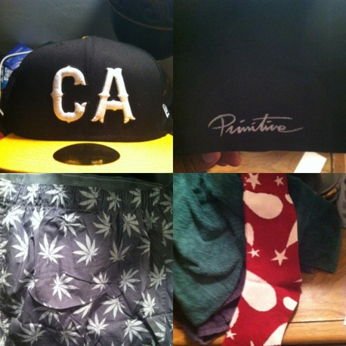 Had To Stop By #Primitive Today & Cop This #CA #Fitted #Huf #420 Boxers & #PlayCloths Soccs S/O To The Homegirls @a_marieee @reennie #OnTheBlvd