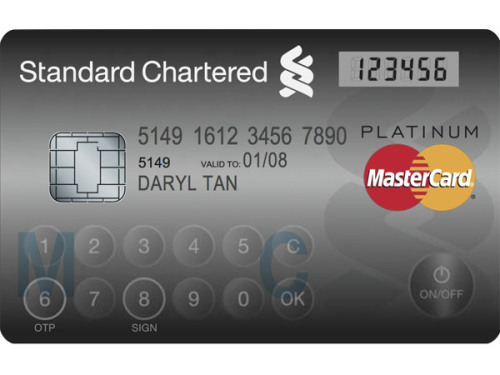"infoneer-pulse:  MasterCard rolls out credit card with display and keypad  Next time you get a new card from your bank, don't be surprised if it has a keypad and an LCD on it. Meet MasterCard's new ""Display Card,"" which basically combines the usual credit/debit or ATM card with an authentication token. The authentication portion features a touch-sensitive keypad and LCD display — hence the name ""Display Card"" — for reflecting a one-time password (OTP). Yet, according to MasterCard, the Display Card looks and functions almost exactly like a regular credit, debit, or ATM card.  » via CNET"