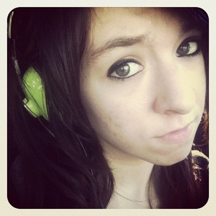 "thelegendofgrimmie:  Listening to Aguilera and gosh darnit, wanting to cry at her perfectness. then we both cried together over Aguilera and Lights because theyre both perf…actually as christina said we were ""weeping"" and ""sobbing"" hahaha WE'RE LOSERS!<3"