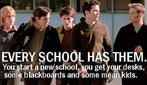 1x06 The Pack | Buffy: a cap and a quote per episode
