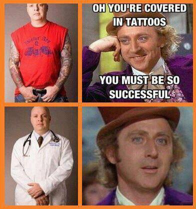 critink:  #tattooedandemployed