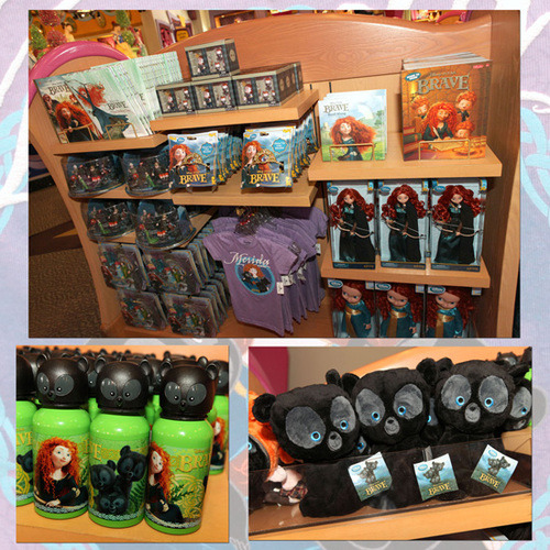 Choosing Merchandise from DisneyŸ•Pixar's 'Brave' at Disney Parks « Disney Parks Blog