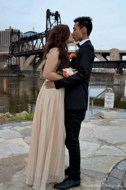 Ahhh, the good ol' days. Prom 2012  P.S I suck at studying!  P.S.S I miss my long hair :(