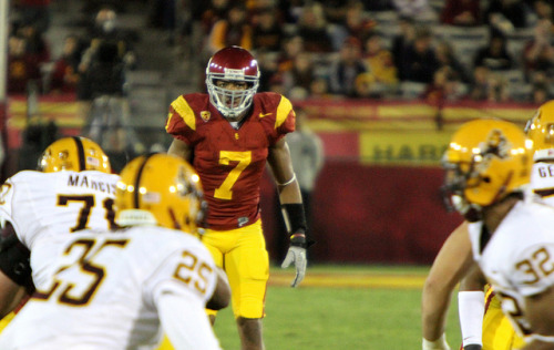 USC Football Notebook: Past Oregon, On To Arizona State After a second-straight poor performance by the defense against a spread team, the Trojans aim to rebound against a third spread squad – Todd Graham's Arizona State Sun Devils. Though most of USC coach Lane Kiffin's were about the porous D, wideout Marqise Lee's Heisman candidacy video debuted today (which you should watch here). Nonetheless, as the cliché goes, defense wins championships… and Wednesday practice's attention.