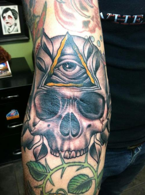 the all seeing eye, done by Jered Peters