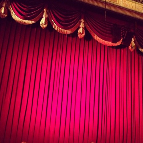 a night at the theater  (at The Walter Kerr Theatre)