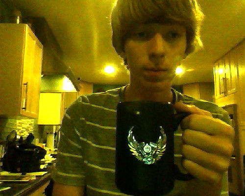 alexxxswystun:  Me and the same mug I've had for years.. I don't think I could ever get rid of it, even if it had led paint on it and it is slowly killing me. Love it too much to give it away.