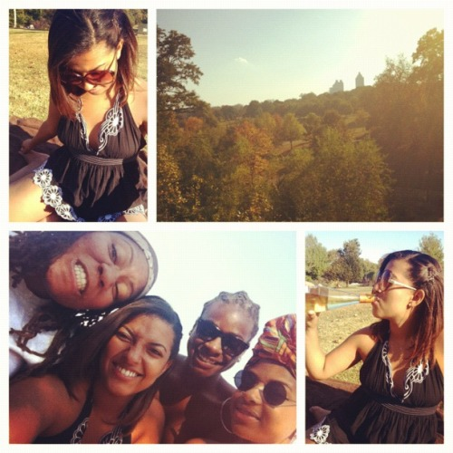 'cause we're young and wild and free.  -Nov. 3, 2012, Piedmont Park.