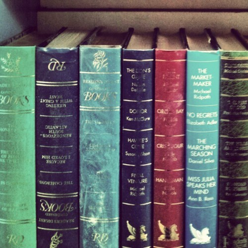 Old teal coloured books that are found in secondhand shops are the best kind #vintagebooks #secondhand #opshop #Oldfield