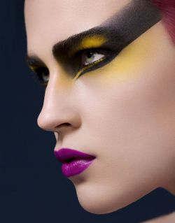 make-up-is-an-art:  Photograph by Josh Van Gelder Makeup by Lisa Eldridge