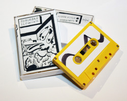 holypage:  Suburban Slowing is a cassette containing dark guitar music, live news reel samples, and vocals all done by Christian Filardo the audio for this release will never exist online and can only be bought on tape here or at live shows. Recorded @ Tempe Museum of Contemporary Art and mastered by Angelo Harmsworth. The artwork was done by Stephen Booth, a super talented guy from Baltimore, MD. The tapes were pro-dubbed,hand packed, and hand numbered get um while you can limited to 50.