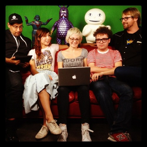 Nerdterns! Live now! www.stickam.com/meltdowncomics get in there!