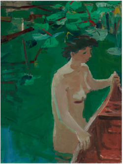 David Park: Woman and Canoe 1955 - christie's again