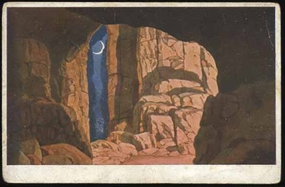 Cave Finn. Opera Ruslan and Lyudmila, 1900Illustrations by Ivan Bilibin
