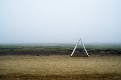Park, Fog, and Sign.