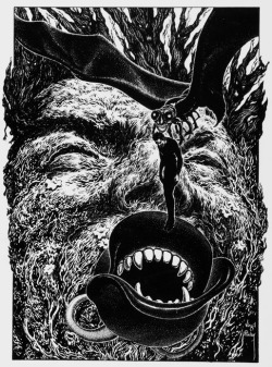 monsterman:  Virgil Finlay…always delivers on dark and distrubed!