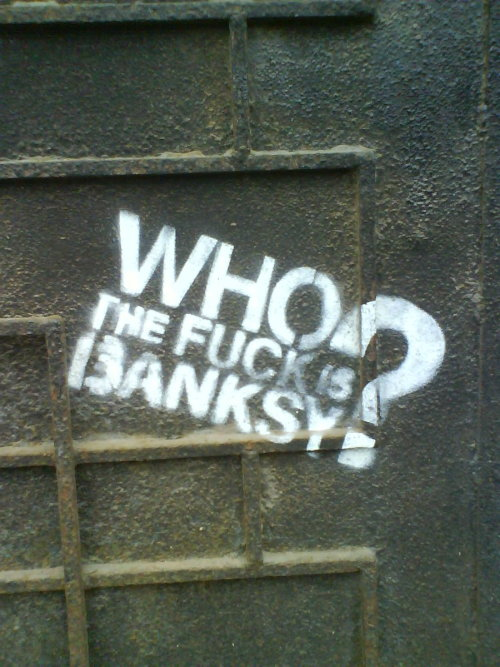 Banksy? by ~Snoopyc
