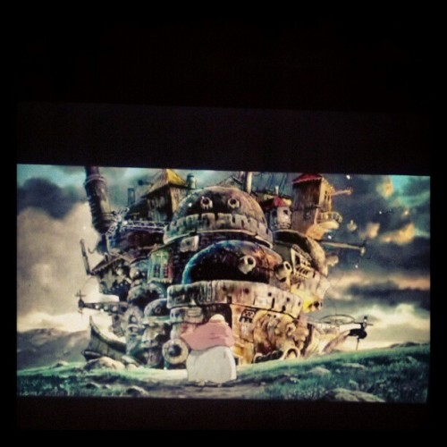 Until i can fall asleep #howlsmovingcastle on loop.