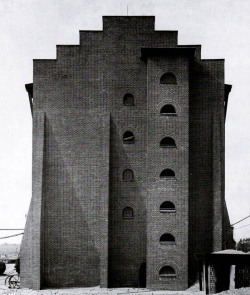 goodnighturpis:  Hans Poelzig, Chemical Factory, Luban, Germany (now Poland), 1911