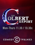 I am watching The Colbert Report                                                  525 others are also watching                       The Colbert Report on GetGlue.com