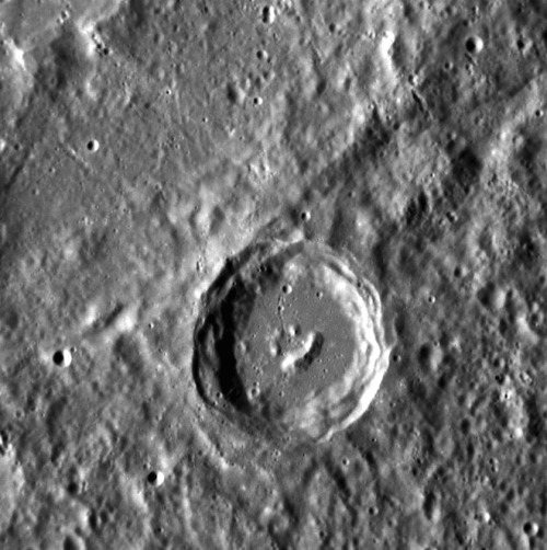 Happy Friday, from the Smiley Crater on Mercury!