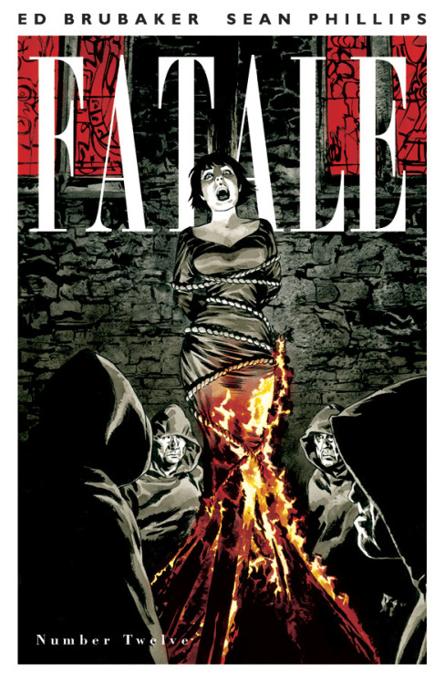 Fatale #12 Story by: Ed Brubaker Art By: Sean Phillips & Dave Stewart Cover By: Sean Phillips Price:$3.50 On Sale:January 23, 2013 The curse of the Femme Fatale has been around long before Josephine. Now we go back to the dark ages, to Medieval times, and the story of a young woman warrior facing unknowable horror that echoes down through time! Another standalone FATALE FLASHBACK issue, and a perfect place for new readers to jump on board! And remember each issue of FATALE contains extra content, articles and artwork that are not available anywhere but the printed single issues.