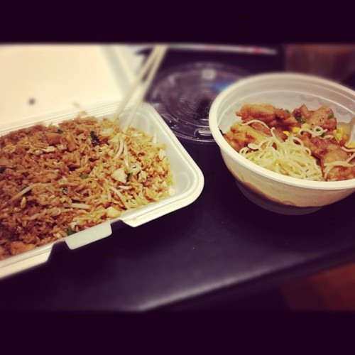 I crave #Chinesefood more than I should. #food #mmmmmmm #friedrice #ramen #happytastebuds #personal