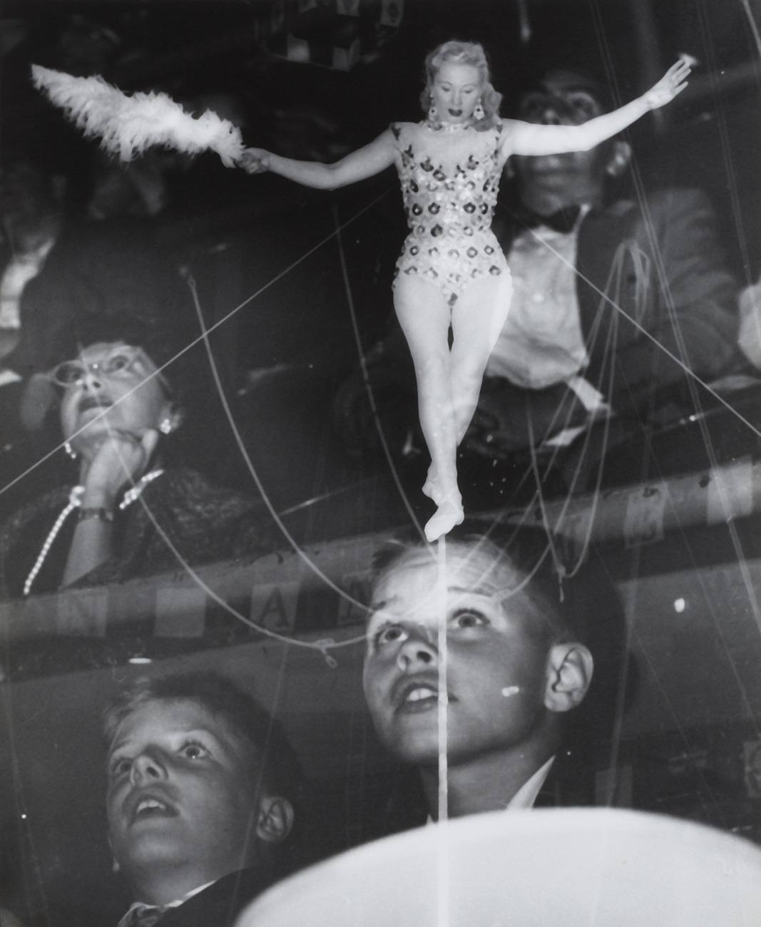 regardintemporel:  Weegee - Circus, ca. 1950