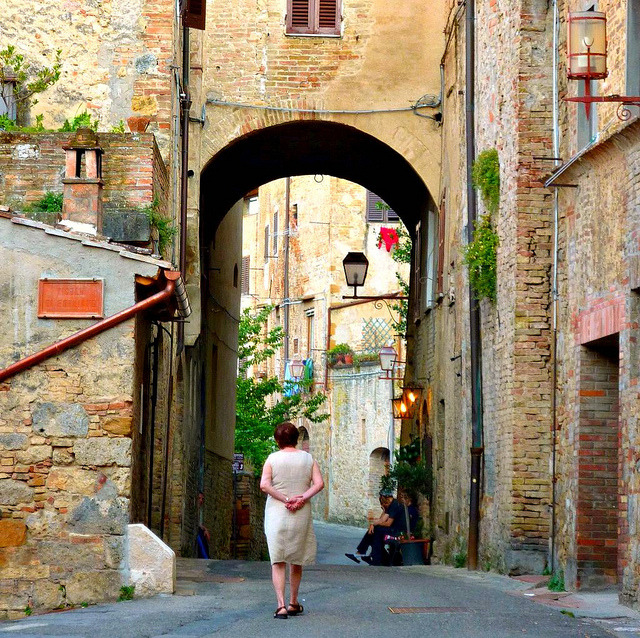 | ♕ |  Gateway of San Gimignano  | by © Mathias Liebing | via ysvoice