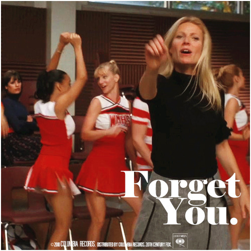 2x07 The Substitute | Forget You Alternative Cover 'The Infinite Brittana Series'