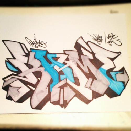 style-and-flow:  rhyme #graff #graffiti #art