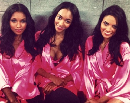 Jasmine Tookes, Jourdan Dunn and Shanina Shaik