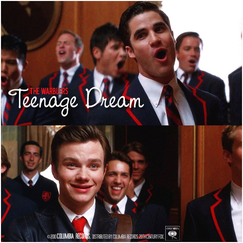 2x06 Never Been Kissed | Teenage Dream Alternative Cover 'Klaine Gaze Collection'
