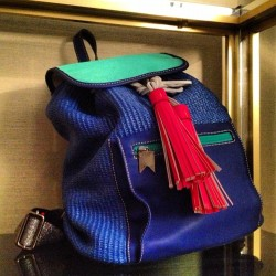 StylokoSnaps Instagram: Ridiculously Cute Meredith Wendell Rucksack at the Matches SS13 press day