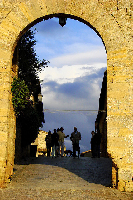 | ♕ |  Monteriggioni - Tuscan citadel  | by © Mathias Liebing Monteriggioni is architecturally and culturally significant walled town with several medieval piazzas. It is referenced in Dante Alighieri's Divine Comedy.