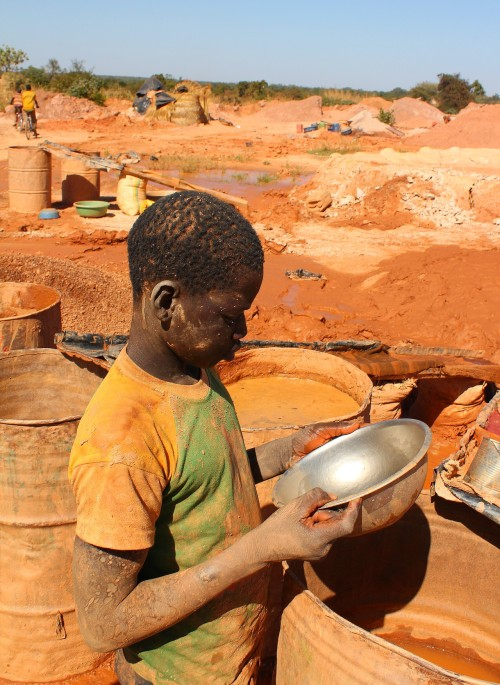 Mine d'or de Bouda / Burkina Faso