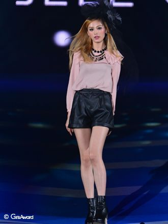 After School - Nana modeling for Ebele Motion at A/W Girls' Award 2012