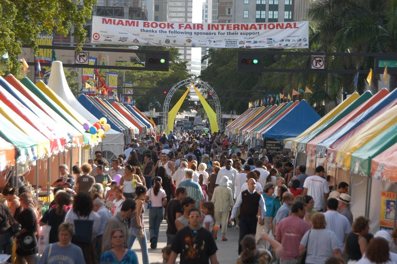 The Miami Book Fair International is coming up! Party in the city where the book fair's on…