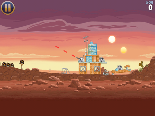 laughingsquid:  Angry Birds Star Wars Has Been Released