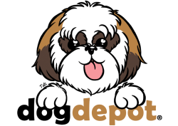 Dog Depot's logo illustration Hand drawn and inked; colors on Photoshop.©tatiartsy.com 2012