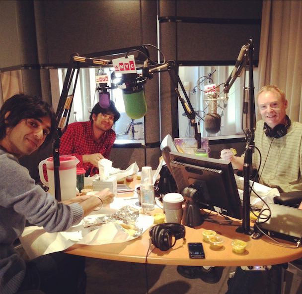 Last night on NPR, Amrit and Anand joined John Schaefer on his great WNYC programme Soundcheck. They discussed the film and straight up ate dosa ON THE AIR. It's a good chat! You can hear it at the Soundcheck page, or you can stream it below, OR you can have this MP3 forever. As you like.